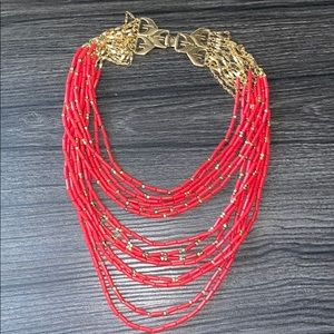 Stella and dot Campari necklace